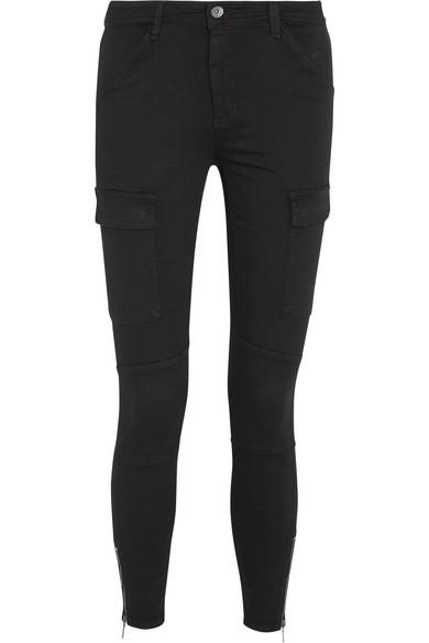 Splendid Hunter Hose mit schmalem Bein aus Twill aus einer Baumwoll-Modalmischung mit Stretch-Anteil