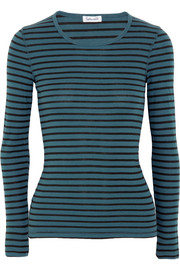 Venice striped jersey top