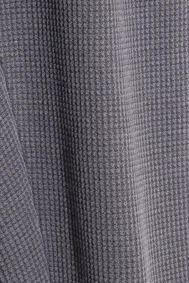 Magnifiques Leggings Nordiques En Mélange De Coton Micromodal® Et Stretch En Maille Gaufrée