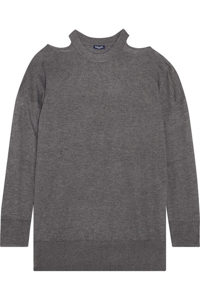 Splendid Canarise Pullover aus Stretch-Strick mit Cut-outs