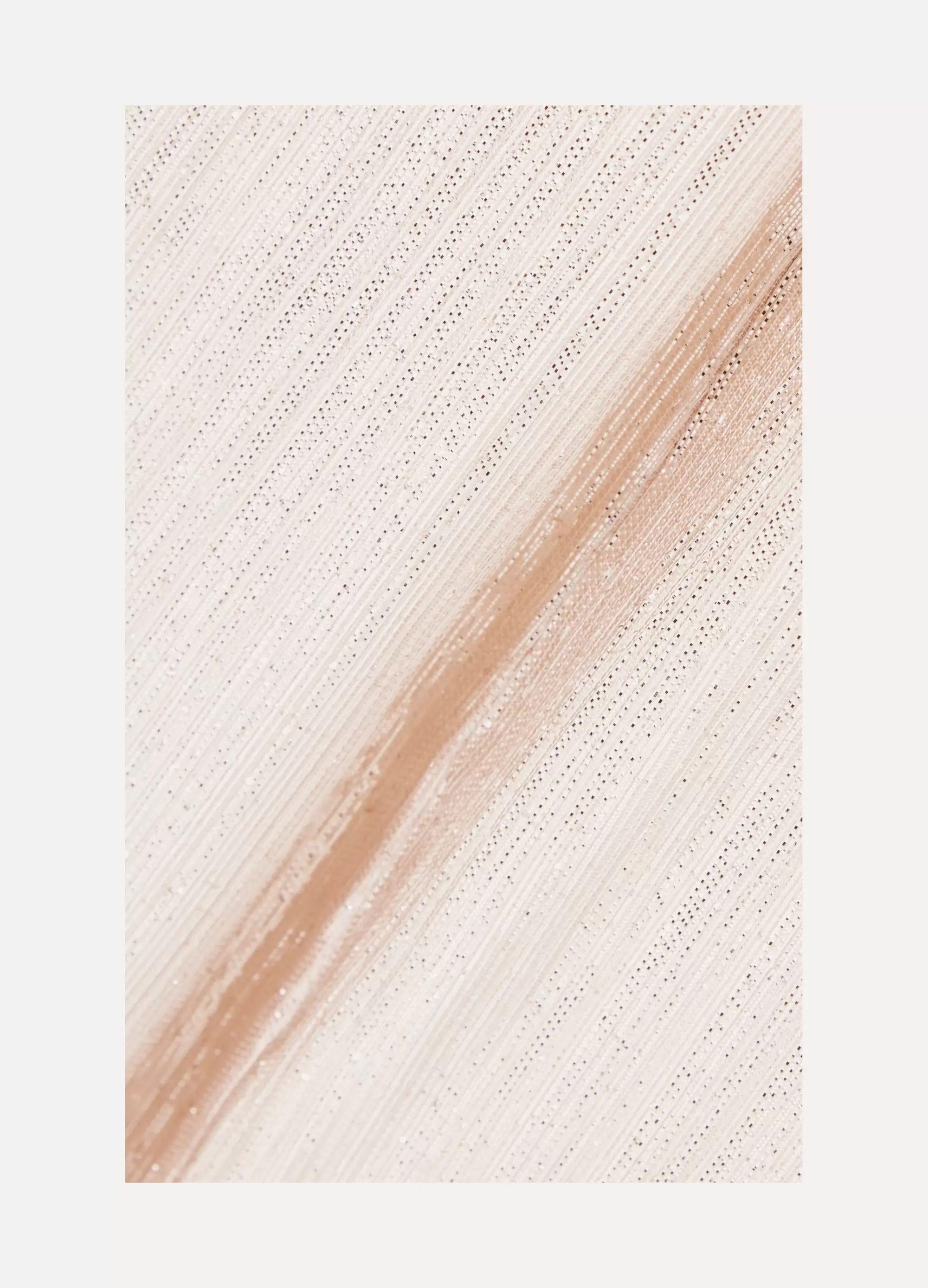 Roland Mouret Brenner textured-lamé gown