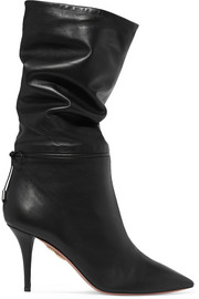 + Claudia Schiffer Le Marais leather boots