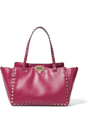 Valentino The Rockstud medium leather tote
