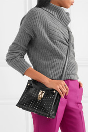 Joylock studded leather shoulder bag