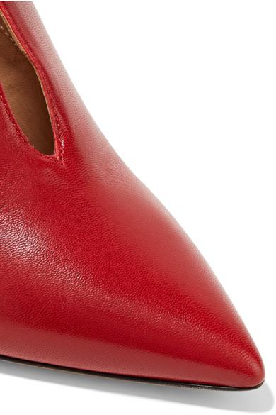 Valentino Ankle   Valentino Garavani Studwrap Ankle Valentino Boots aus Leder 91b5d2
