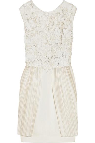 3 1 Phillip Lim Fl Embellished Silk Dress