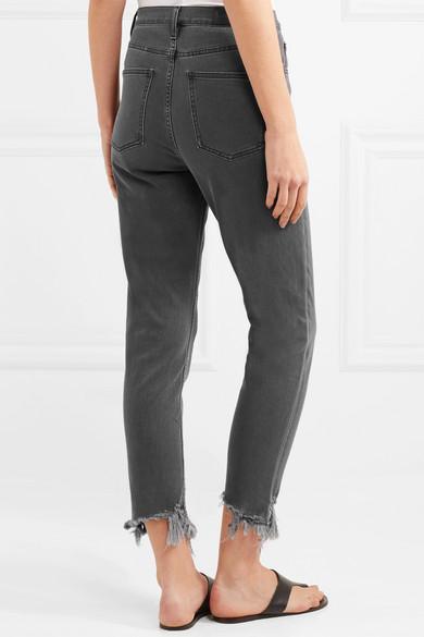 Preiswert Günstiger Preis M.i.h Jeans Mimi hoch sitzende Jeans mit schmalem Bein und Fransen Freies Verschiffen Neue yl1fU4k