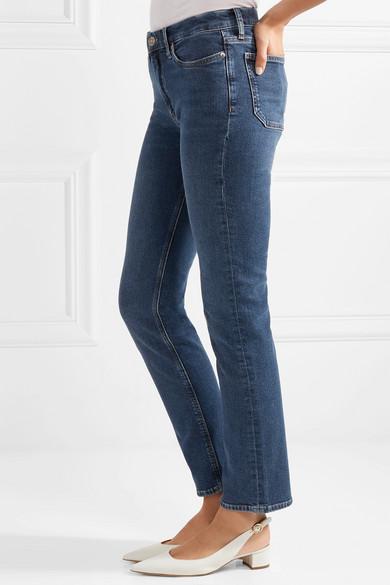 M.i.h Jeans Daily hoch sitzende Jeans mit geradem Bein