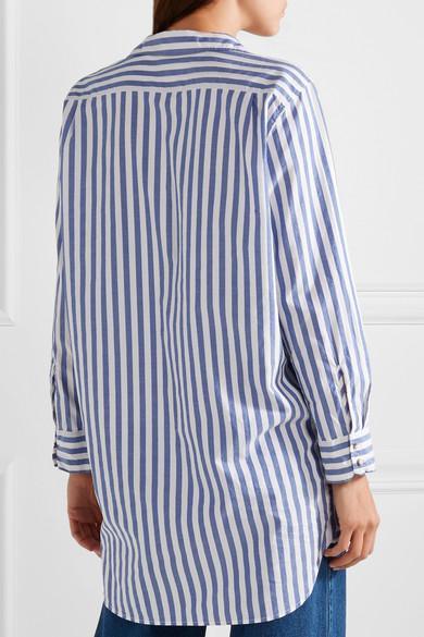 M.i.h Jeans Gestreiftes Oversized-Hemd aus Baumwolle
