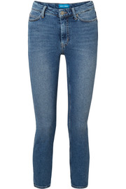 Niki cropped high-rise skinny jeans