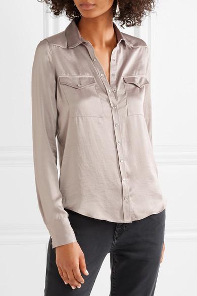 M.i.h Jeans Venetia Hemd aus Satin