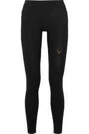 Lucas Hugh Core Performance V2 mesh-paneled stretch leggings