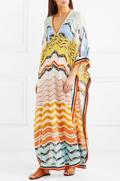 Missoni Mare Kaftan From Knitting Crochet