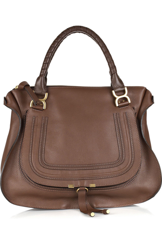Chloé Marcie large leather bag