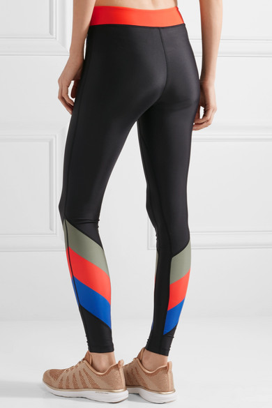 P.E Nation First Gen bedruckte Leggings aus Stretch-Material