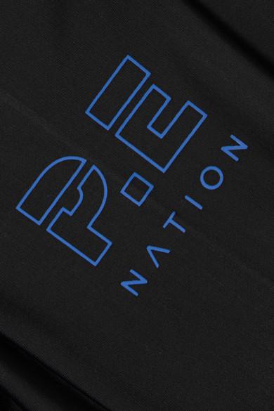 P.E Nation Hell Fire bedruckte Leggings aus Stretch-Material