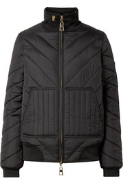 Roll On quilted shell jacket