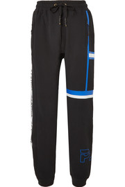 Rookie printed stretch-cotton jersey track pants