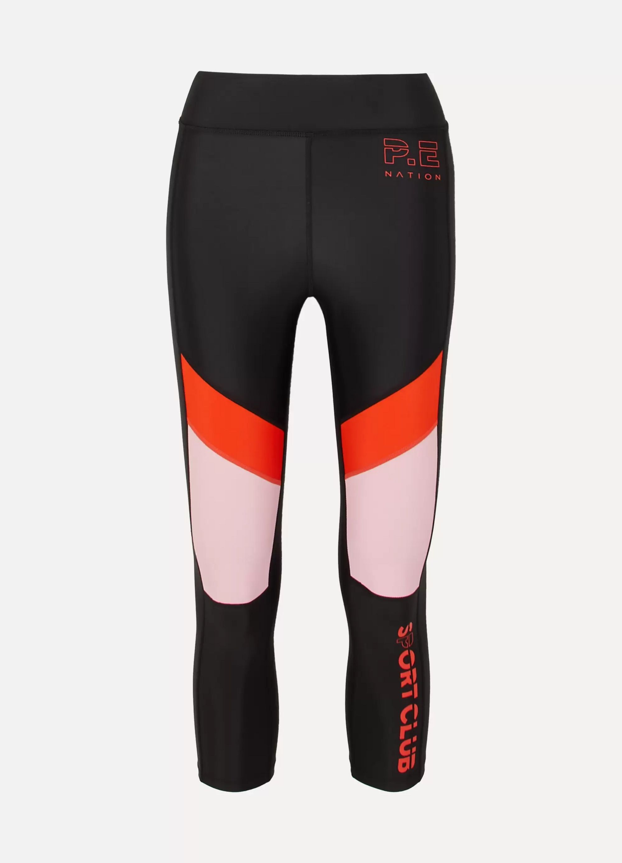 P.E NATION First Innings paneled stretch leggings