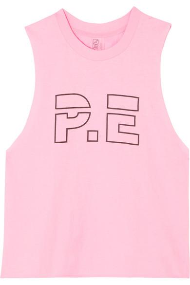 P.E Nation Tanktop aus Baumwoll-Jersey mit Stretch-Anteil und Print