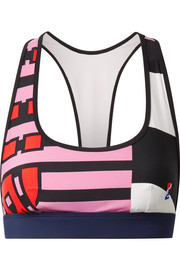The Bumper printed sports bra