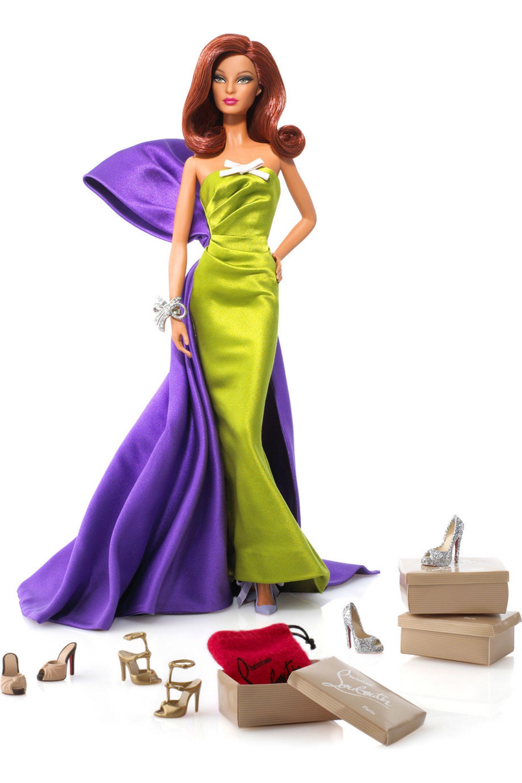 Barbie by Christian Louboutin Anemone Barbie by Christian Louboutin