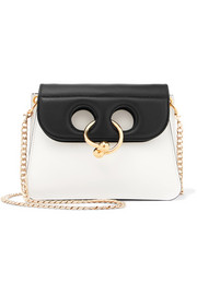 J.W.Anderson Pierce mini two-tone leather shoulder bag