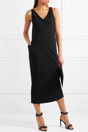 Rick Owens Crepe midi dress