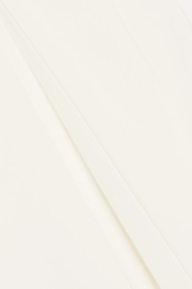Rick Owens Maxikleid aus Seiden-Georgette mit Zierperlen