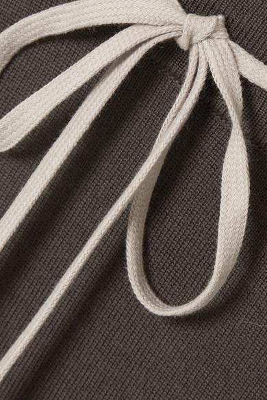 Rick Owens Verkürzte Jogginghose aus Wolle