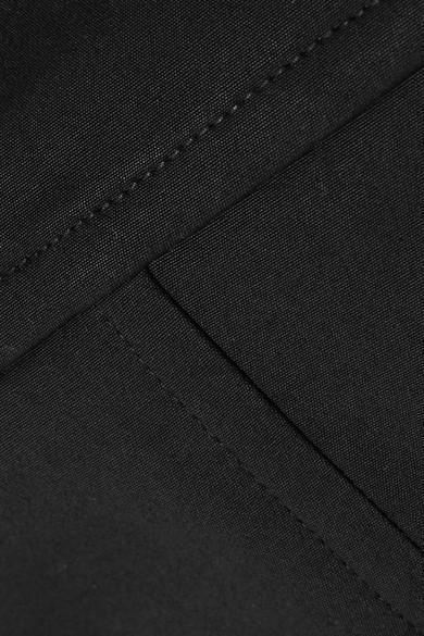 Rick Owens Bustier-Oberteil aus Seidensatin, Stretch-Strick und einer Baumwollmischung