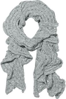 И вот такой супер стильный шарф,только ярко-оранжевого цвета.Смотриться...