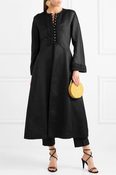 Etro Mantel aus glänzendem Jacquard