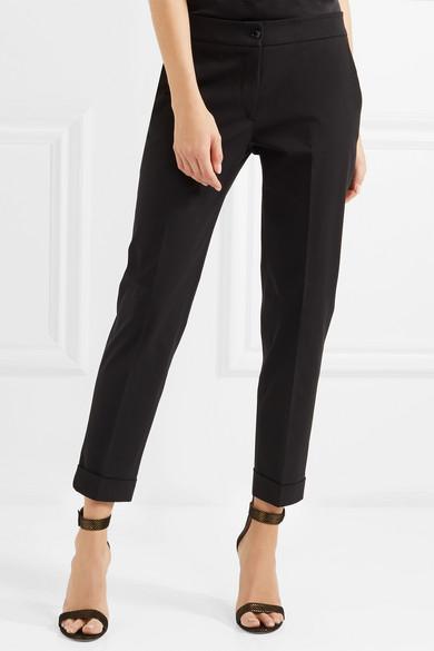 Etro Twill-Hose mit schmalem Bein aus Stretch-Baumwolle