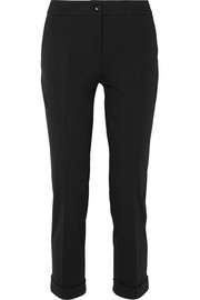 Etro Stretch-cotton twill slim-leg pants