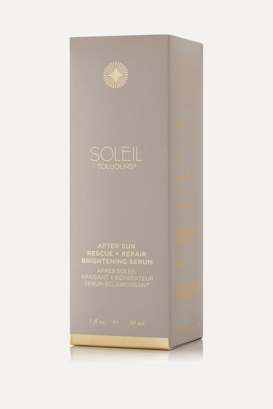 Soleil Toujours + NET SUSTAIN After Sun Rescue + Repair Brightening Serum, 30ml