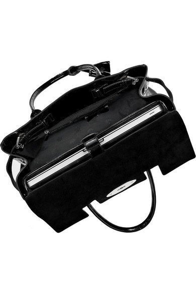 edf280fcd635 ... discount code for mulberry bayswater patent leather laptop bag net a  porter d5f1e ce0fc
