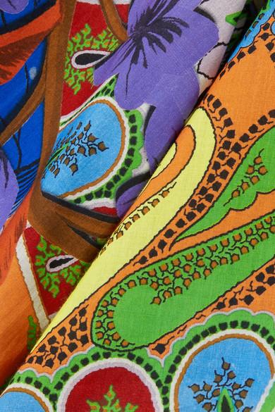 Etro Bedrucktes Oberteil aus Baumwoll-Voile