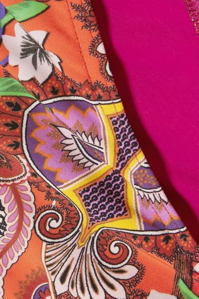 Etro Bedruckter Triangel-Bikini