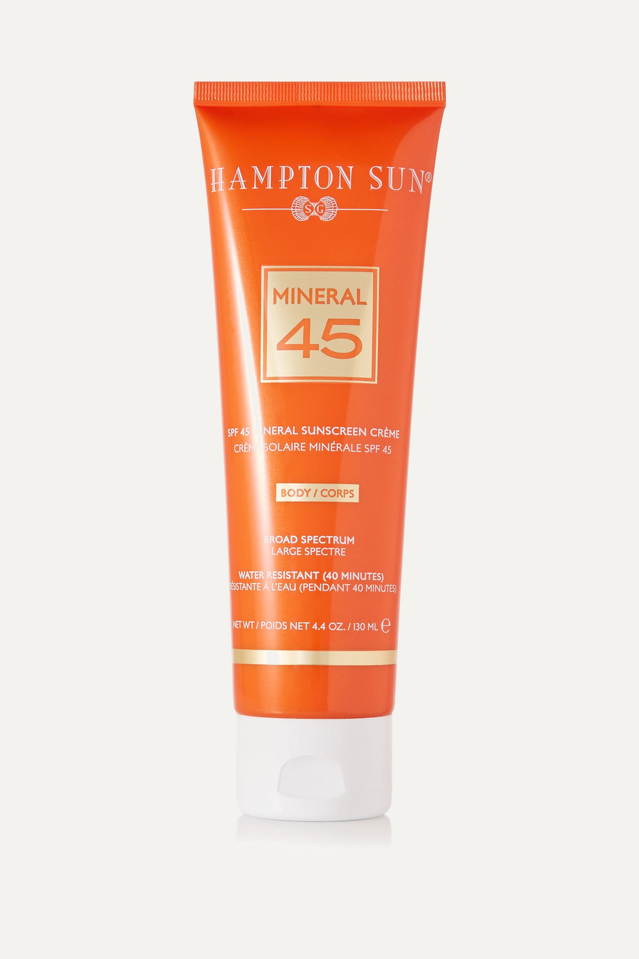 Hampton Sun SPF45 Mineral Crème for Body, 130ml