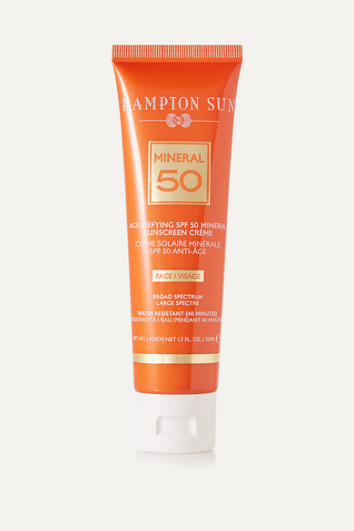 HAMPTON SUN Spf50 Age Defying Mineral For Face, 50Ml - Colorless