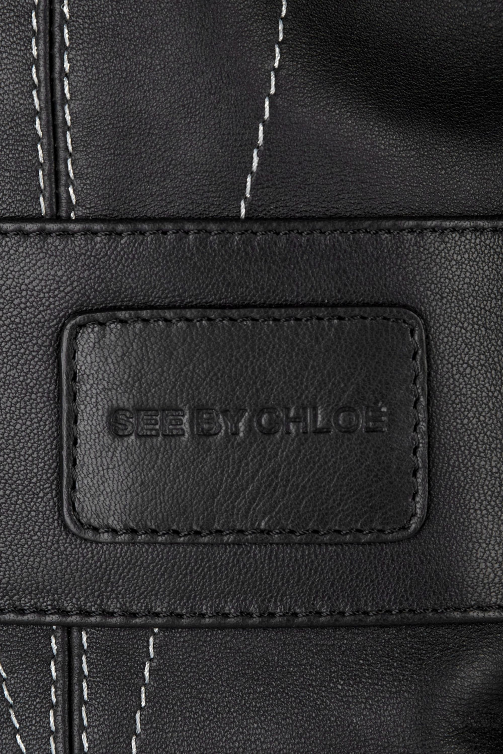 See By Chloé Yate leather bowling bag