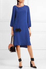 Crepe de chine dress