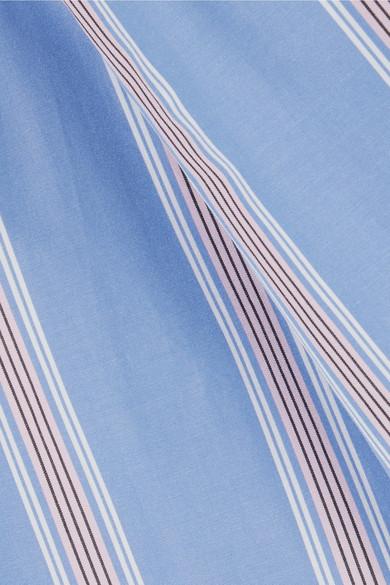 Chemise En Popeline De Coton À Rayures Marni