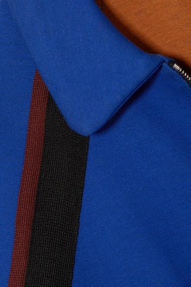 Marni Jacke aus Jersey aus einer Baumwollmischung mit Streifen