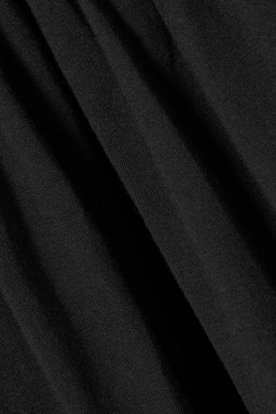 Marni Oberteil aus Baumwoll-Jersey mit Raffungen