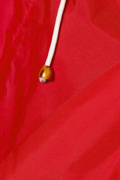 Marni Oversized-Regenmantel aus Shell mit Kapuze