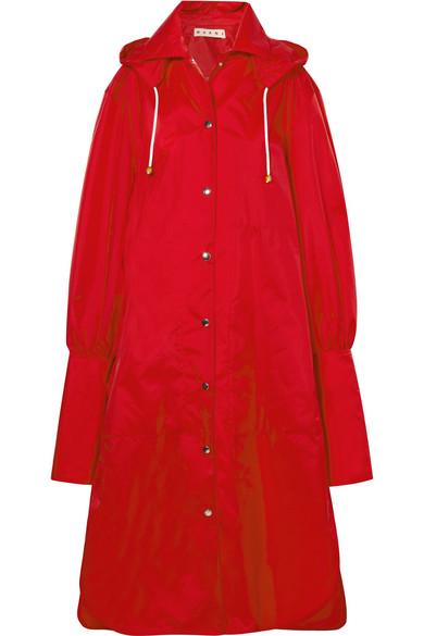 Steckdose Mit Master Marni Oversized-Regenmantel aus Shell mit Kapuze Online-Shop Aus Deutschland Günstig Kaufen Sammlungen s1r2yk