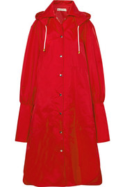 Marni Oversized hooded shell raincoat