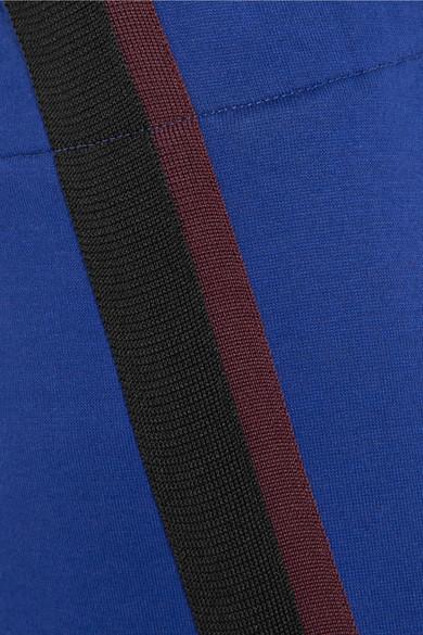 Marni Verkürzte Jersey-Jogginghose aus einer Baumwollmischung mit Streifen